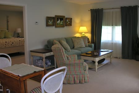 Vermont Foliage beautiful and spacious guest suite - Westford - House