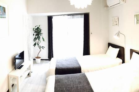 Cozy room near Fukuoka DOWNTOWN - Chuo Ward, Fukuoka - Apartment