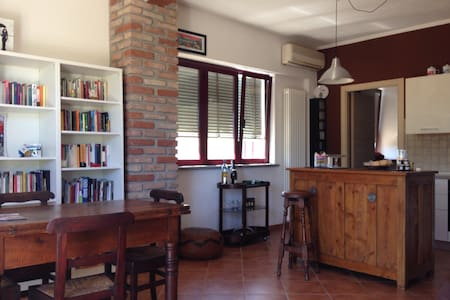 Beautiful apartment with garden - San Giuliano Nuovo - Haus