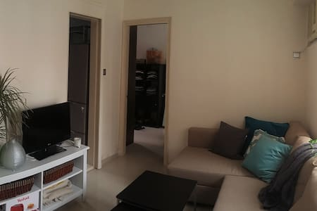 Bright & cozy flat with large bdr - Hongkong - Wohnung