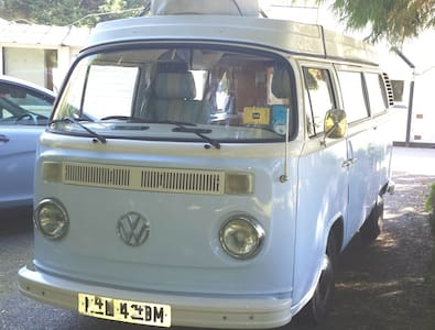 Nell the classic 1973 VW campervan - Goonhavern - Husbil/husvagn