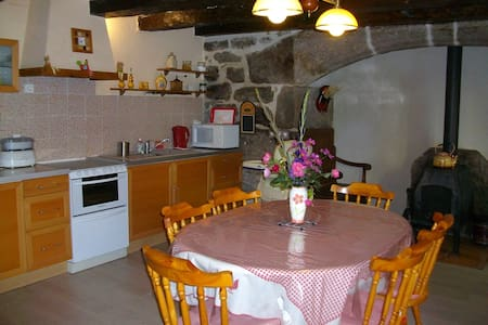 Maison traditionnelle dans hameau. - Dům