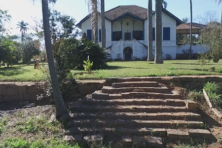 Sede de fazenda centenaria - Parque dos Cafezais 1