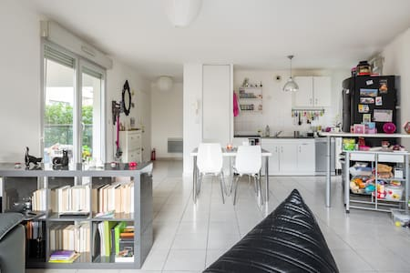 Chambre privée + petit déjeuner - Lyon - Apartment