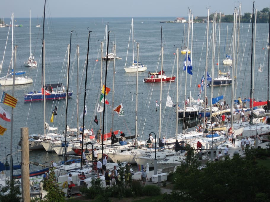 Annual regatta race to watch from the porch
