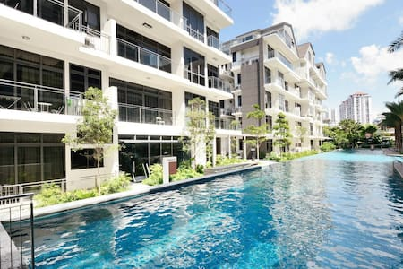 Downtown Lux 2BR con near Sentosa - Appartement
