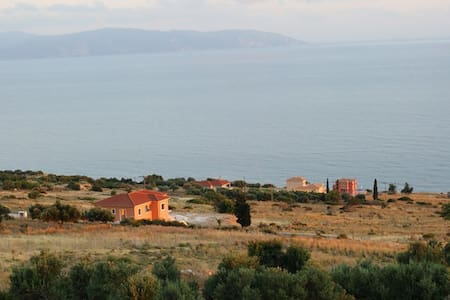 KEFALONIAN RETREATS SEA VIEW APARTMENT A4 - Πλατείες - Lägenhet