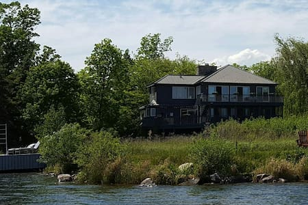 1000 Islands Room & Bath on St. Lawrence River - Casa