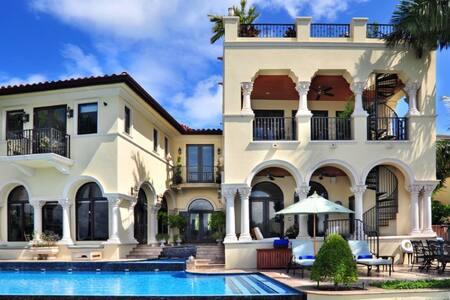 5 bd, hacienda, poolside deck