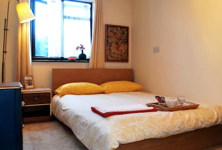Bright Double Bedroom and Parking