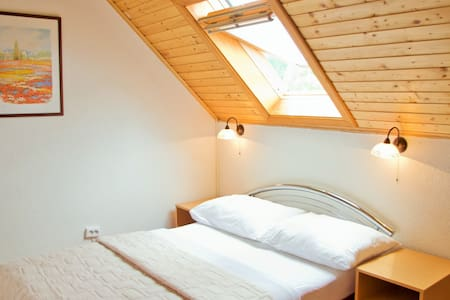 Cozy attic room with roof window - Bed & Breakfast