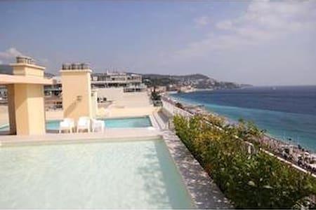 Studio,Promenade ds Anglais,piscine - Nizza - Wohnung