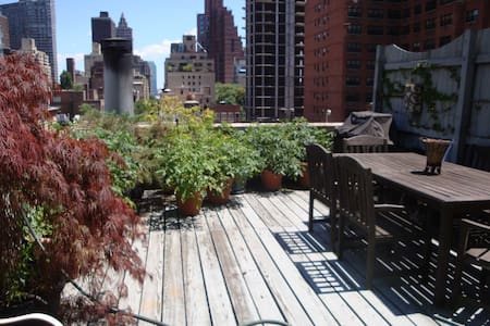 Penthouse Studio East 50s Terrace - New York - Appartement