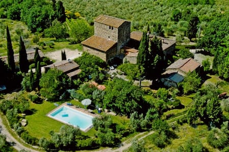 Fairy House with Pool, Chianti Area - Poggibonsi - House