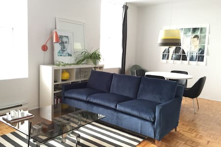 Modern Bedroom - Friendly Gay Area - Montreal - Apartment