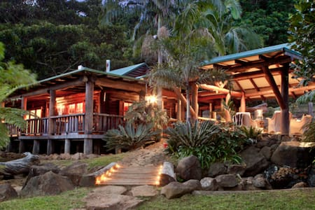 Tranquility Lodge, Log Cabin Mt Tamborine. (2 per) - Mount Tamborine - Sommerhus/hytte