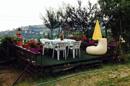 Great Sea View Double Bed Room - Trabzon - Dom