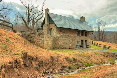 Stone School House w/ Modern Flair - Purcellville