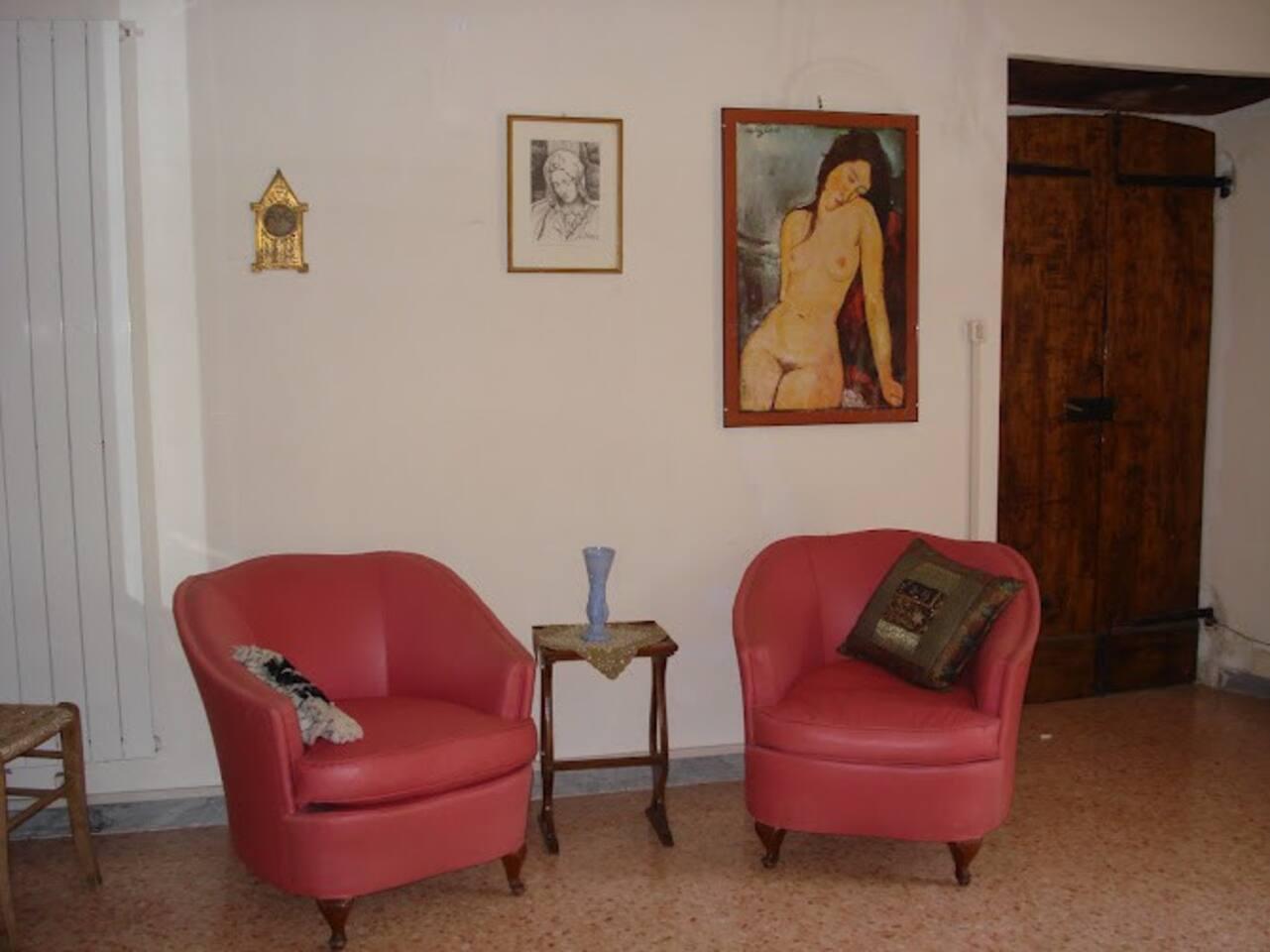 Cozy Corner in Main Room