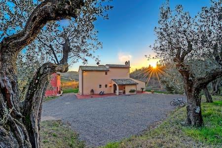 Urlaub auf dem Bauernhof La Capanna - Haus