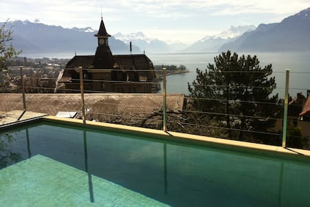 Beautiful House with Pool - Corseaux - House
