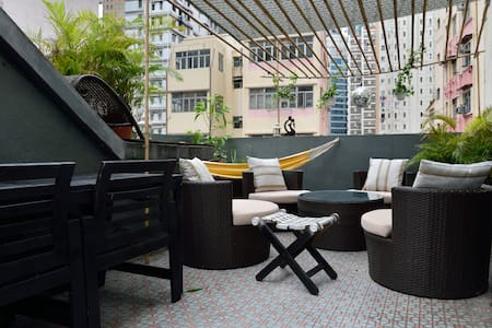 TRENDY FLAT PRIVATE ROOFTOP WANCHAI