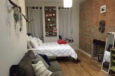 Private and Spacious Bedroom - Brooklyn - Apartamento