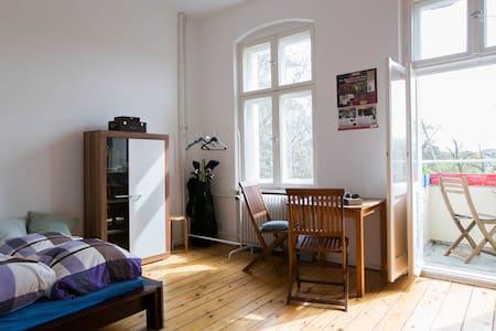 Helles Zimmer in Berlin-Steglitz - Berlin - Apartament