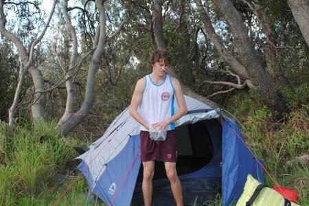 Backyard tent - Tent