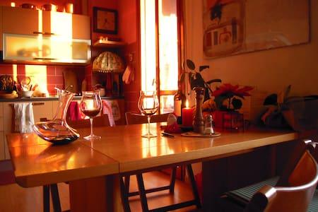 Sunny apt. close to Milan&Como lake - Apartment