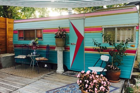 The Pastel Rainbow Fortune Hideaway - Camper/RV