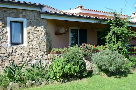 villa nel verde con vista  mare - Bed & Breakfast