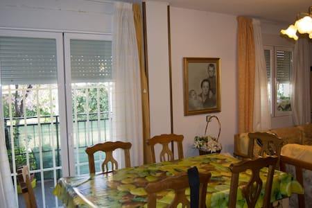 Piso acogedor en la Sierra d Madrid - Appartement