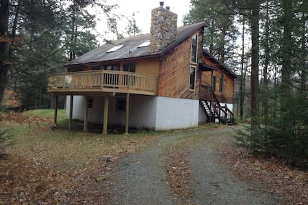 BEAUTIFUL MOUNTAIN GET-A-WAY !!! - Albrightsville - Casa