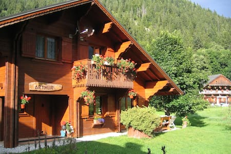Chalet Arthur : Independant chalet for all seasons - Chalet