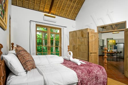 rustic and homy shelter in Ubud