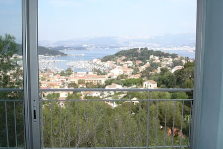 French riveria with a view & pool - Saint-Mandrier-sur-Mer