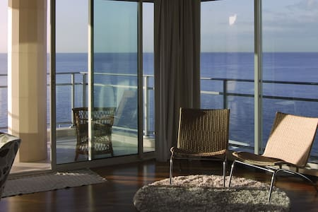 Oceanfront flat with balcony. w/ac. - Funchal - Apartment