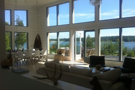 Luxury Year-around Villa in the Archipelago! - Haus