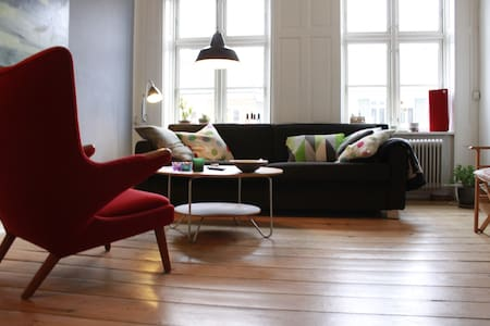 Charming & central Copenhagen flat