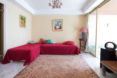 APPARTEMENT 130M² VUE MER  - Nizza - Wohnung