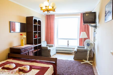 comfortable,with a view to the park - Lakás