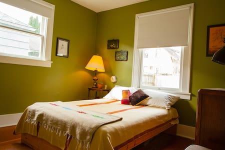 Bedroom in North Portland Bungalow