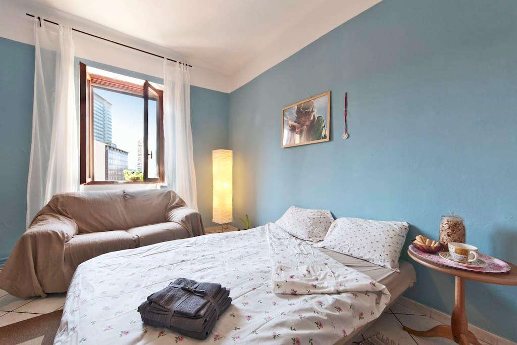 the LightBlue Room