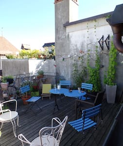 Room in Oldtown, Rooftop, Wonderful view - Wohnung