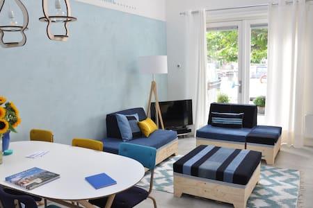 Comfortabel appartement bij Sneek aan het water - Wohnung