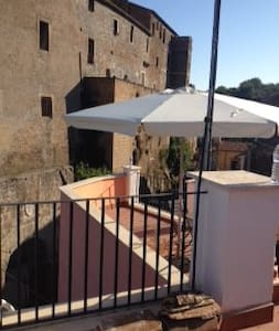 The Castle on my Terrace - Calcata Vecchia - House