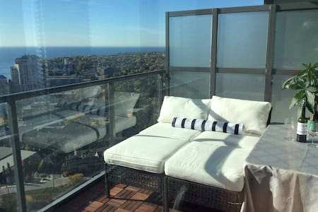 1 B.ROOM + LUX BALCONY - BEAUTIFUL LAKE VIEWS! - Toronto - Appartement en résidence