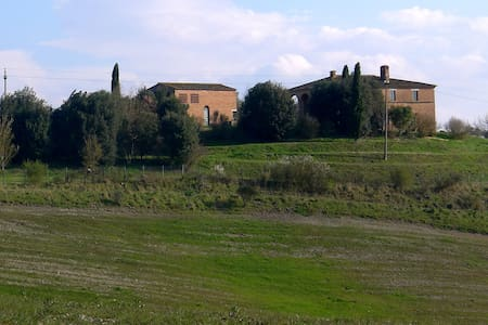 Podere Bottai sulle Crete di Siena - Haus