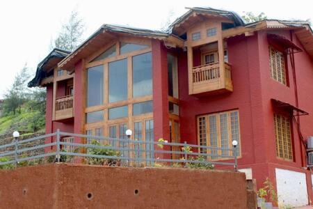 3BHK Red Villa in Lonavala - Lonavala